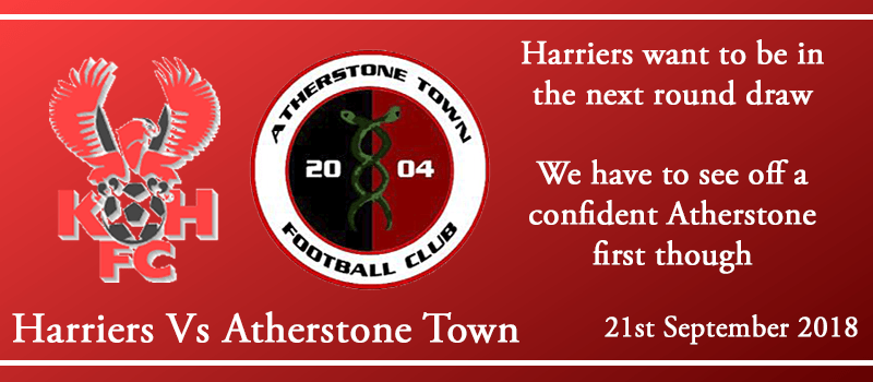 21-09-18 - Preview - FA Cup 2nd Qual Rd - Kidderminster Harriers Vs Atherstone Town
