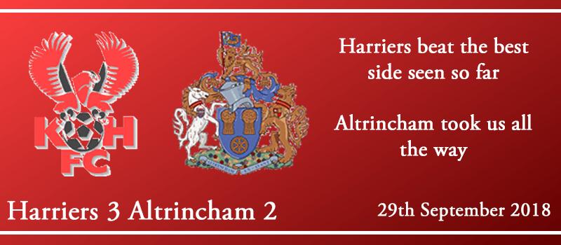 29-09-18 - Report - Kidderminster Harriers 3 Altrincham 2