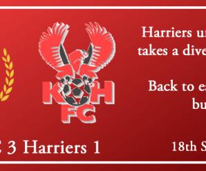 18-09-18 – Report – Chester FC 3 Kidderminster Harriers 1
