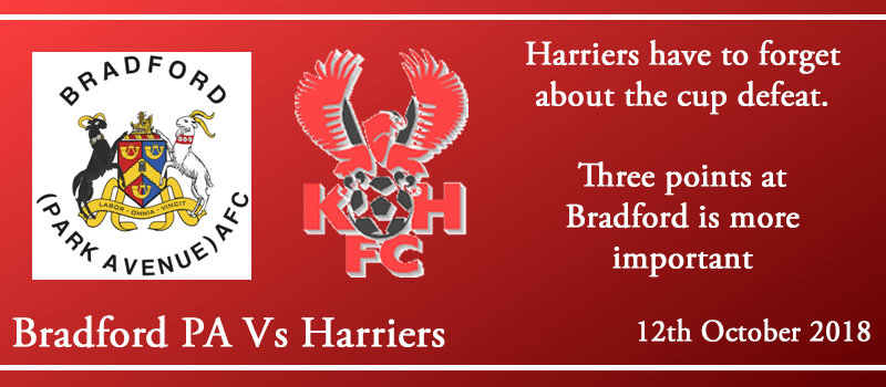 12-10-18 - Preview - Bradford (Park Avenue) AFC Vs Kidderminster Harriers