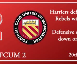20-10-18 – Report – Kidderminster Harriers 1 FC Utd of Manchester 2
