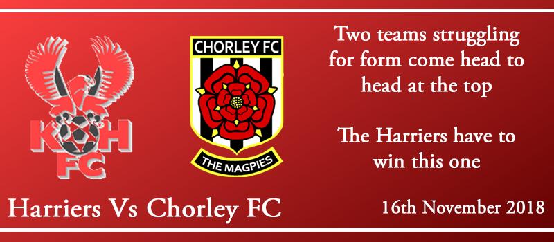 16-11-18 – Preview – Kidderminster Harriers Vs Chorley FC
