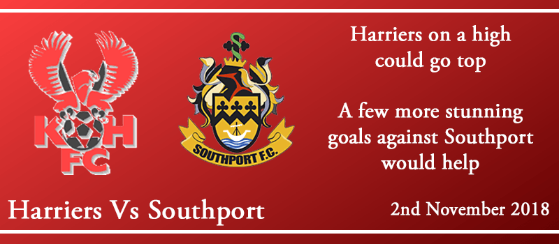 2-10-18 - Preview - Kidderminster Harriers Vs Southport