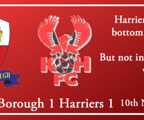 10-11-18 – Report – Nuneaton Borough 1 Kidderminster Harriers 1