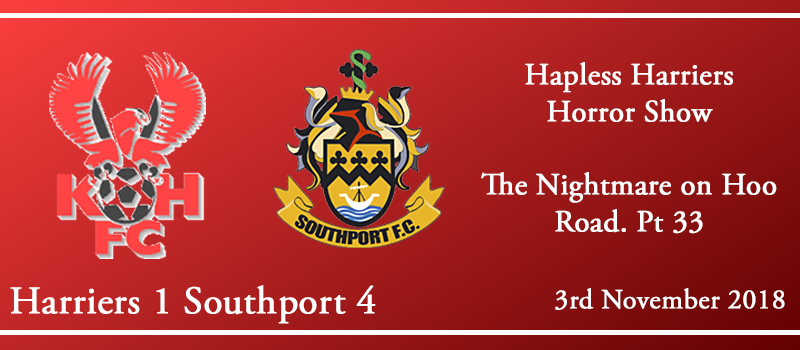 03-11-18 – Report – Kidderminster Harriers 1 Southport 4