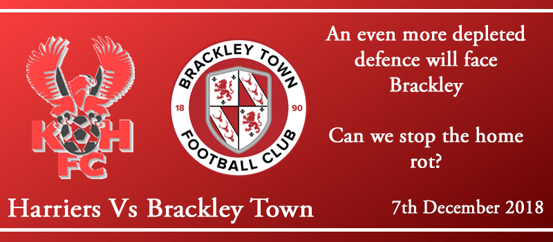 07-12-18 - Preview - Kidderminster Harriers Vs Brackley Town