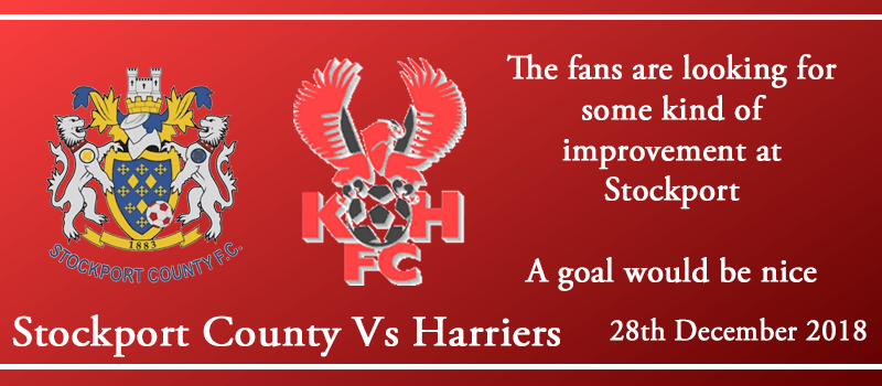 28-12-18 - Preview - Stockport County Vs Kidderminster Harriers