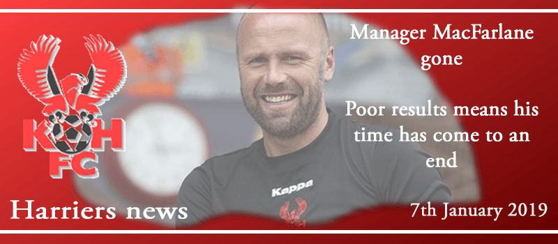 07-01-19 - News - Manager MacFarlane gone