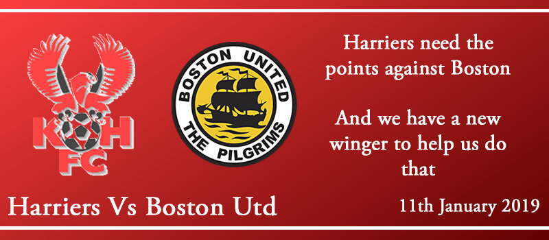 11-01-19 - Preview - Kidderminster Harriers Vs Boston Utd