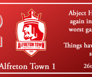 26-01-19 – Report – Kidderminster Harriers 0 Alfreton Town 1