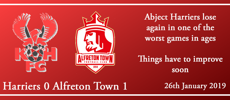 26-01-19 – Report – Kidderminster Harriers 0 Alfreton Town 1