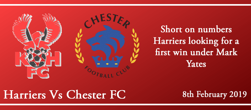 08-02-19 - Preview - Kidderminster Harriers Vs Chester FC