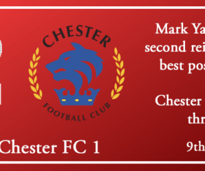 09-02-19 – Report – Kidderminster Harriers 4 Chester FC 1