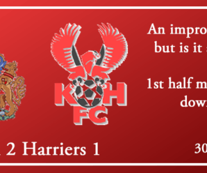 30-03-19 – Report – Altrincham 2 Kidderminster Harriers 1