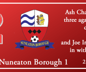 02-03-19 – Report – Kidderminster Harriers 4 Nuneaton Borough 1