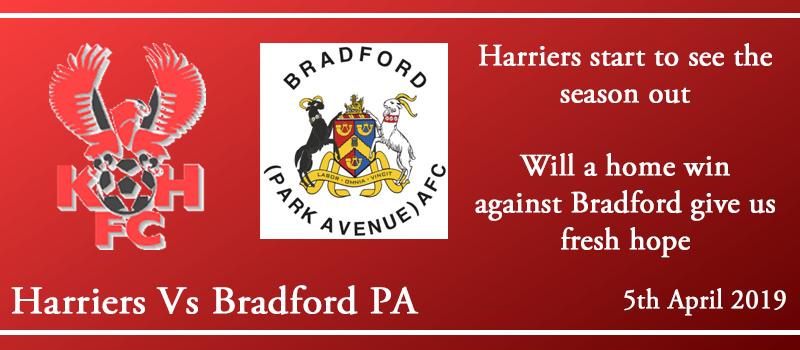 05-04-19 - Preview - Kidderminster Harriers Vs Bradford (Park Avenue) AFC