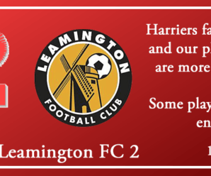 19-04-19 – Report – Kidderminster Harriers 1 Leamington FC 2