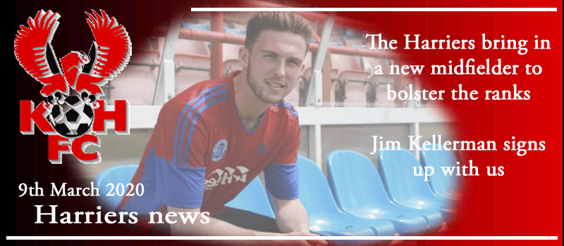 09-03-20 - News - The Harriers bring in a new midfielder