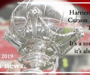 11-11-19 – News – Harriers are going to Curzon Ashton in the Trophy