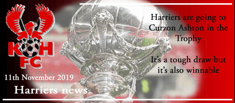 11-11-19 - News - Harriers are going to Curzon Ashton in the Trophy