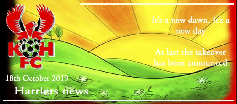 18-10-19 – News – It's a new dawn. It's a new day