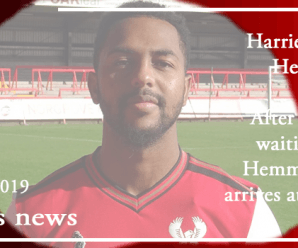 20-10-19 – News – Harriers bring in Hemmings