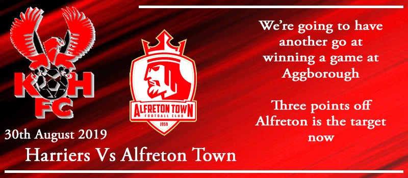 30-08-19 - Preview - Kidderminster Harriers Vs Alfreton Town