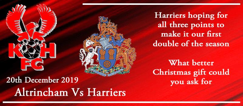 20-12-19 - Preview - Altrincham Vs Kidderminster Harriers
