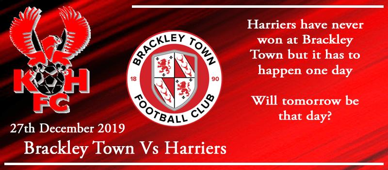 27-12-19 - Preview - Brackley Town Vs Kidderminster Harriers