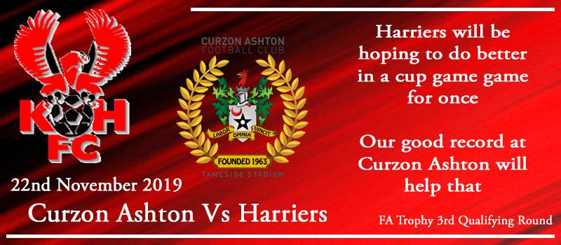 22-11-19 - Preview - Curzon Ashton Vs Kidderminster Harriers