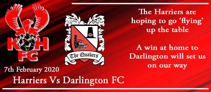 07-02-20 - Preview - Kidderminster Harriers Vs Darlington FC