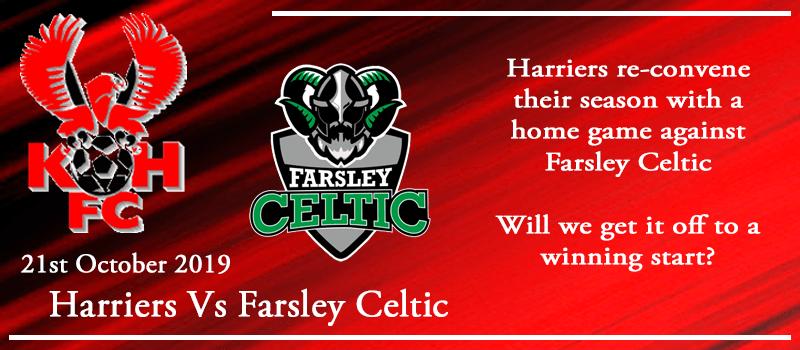 21-10-19 - Preview - Kidderminster Harriers Vs Farsley Celtic