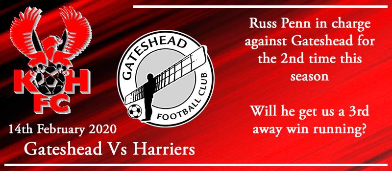 14-02-20 - Preview - Gateshead Vs Kidderminster Harriers