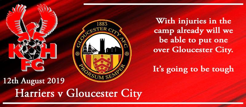 12-08-19 - Preview - Kidderminster Harriers Vs Gloucester City
