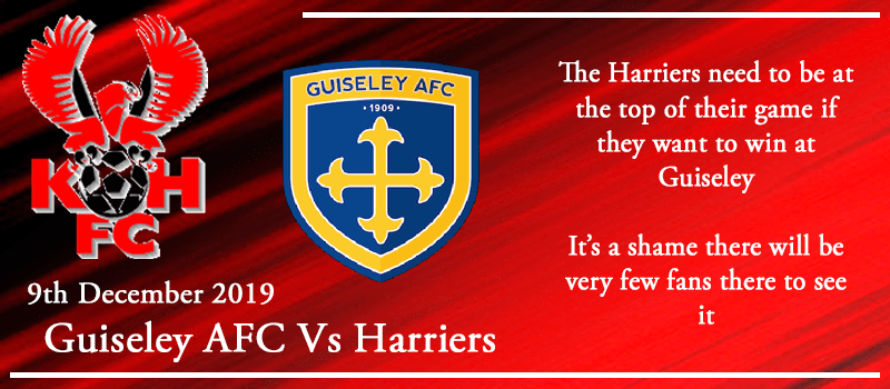09-12-19 - Preview - Guiseley AFC Vs Kidderminster Harriers