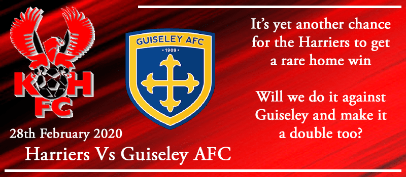 28-02-20 - Preview - Kidderminster Harriers Vs Guiseley AFC