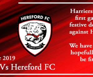 24-12-19 – Preview – Kidderminster Harriers Vs Hereford FC