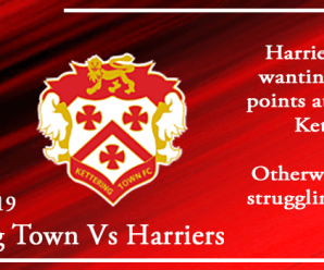 25-08-19 – Preview – Kettering Town Vs Kidderminster Harriers