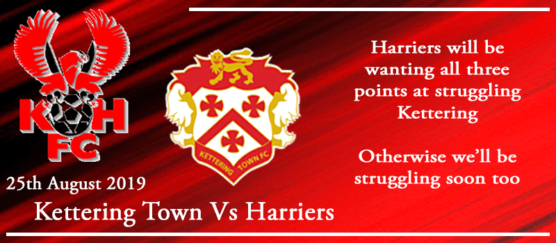 25-08-19 - Preview - Kettering Town Vs Kidderminster Harriers