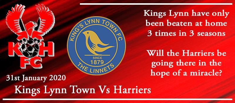 31-01-20 - Preview - Kings Lynn Town Vs Kidderminster Harriers