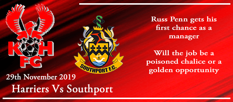 29-11-19 - Preview - Kidderminster Harriers Vs Southport