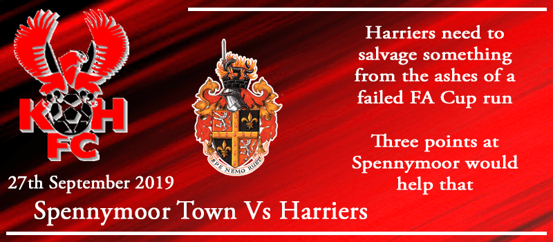 27-09-19 - Preview - Spennymoor Town Vs Kidderminster Harriers