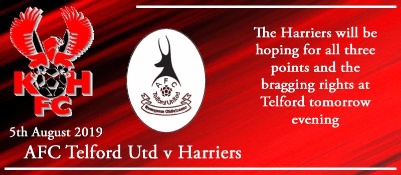 05-08-19 - Preview - AFC Telford Utd Vs Kidderminster Harriers