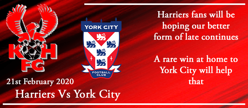 21-02-20 - Preview - Kidderminster Harriers Vs York City