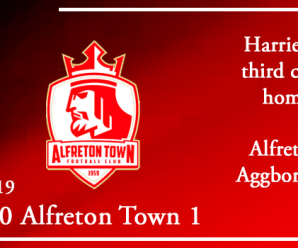 31-08-19 – Report – Kidderminster Harriers 0 Alfreton Town 1