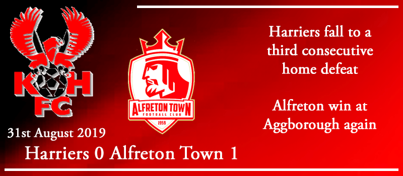 31-08-19 - Report - Kidderminster Harriers 0 Alfreton Town 1