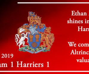 21-12-19 – Report – Altrincham 1 Kidderminster Harriers 1