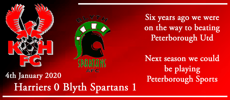 04-01-20 - Report - Kidderminster Harriers 0 Blyth Spartans 1