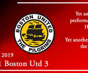 07-12-19 – Report – Kidderminster Harriers 1 Boston Utd 3