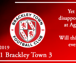 03-09-19 – Report – Kidderminster Harriers 1 Brackley Town 3